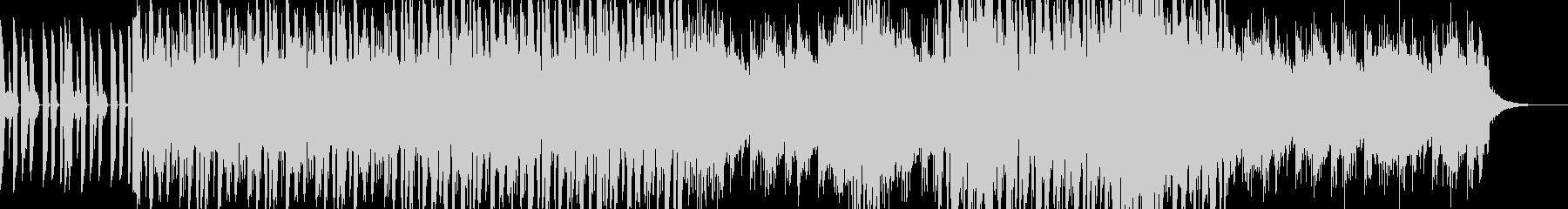 サックスと幻想的なジャズ・フュージョンの未再生の波形