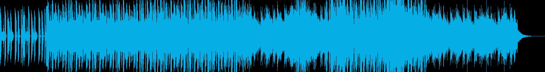 サックスと幻想的なジャズ・フュージョンの再生済みの波形