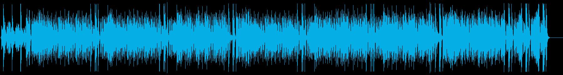 明るいアップテンポで元気なスカの曲の再生済みの波形