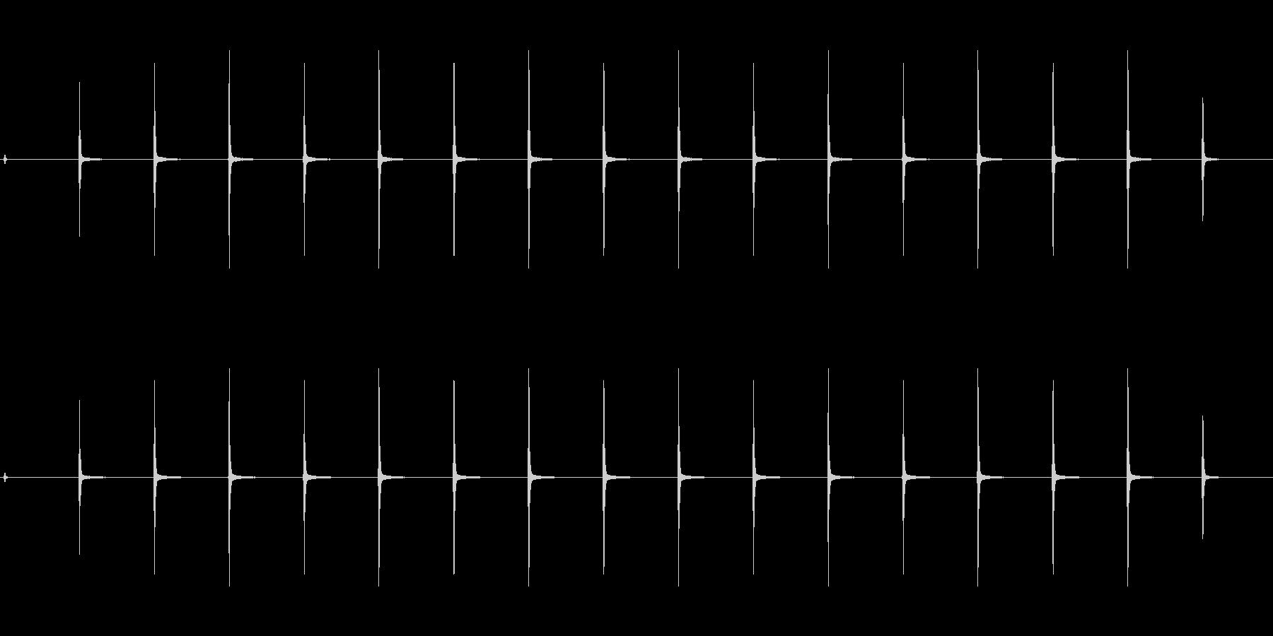 時計 ticktock_29-3_revの未再生の波形