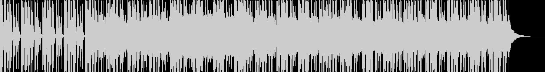 ダークホラーの未再生の波形