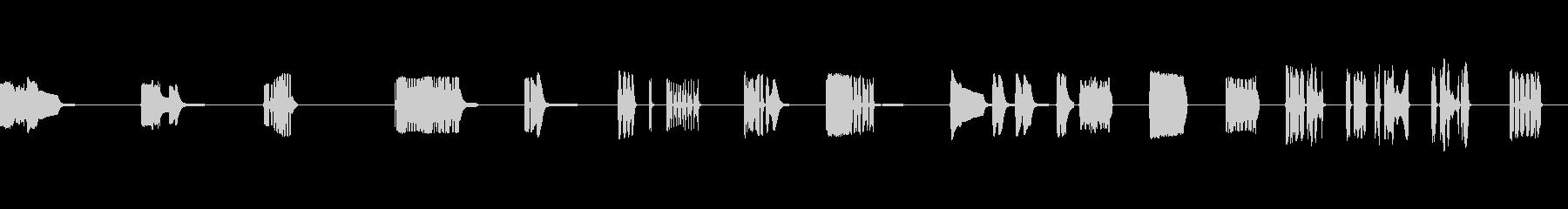 コンピュータートーク、SCI FI...の未再生の波形