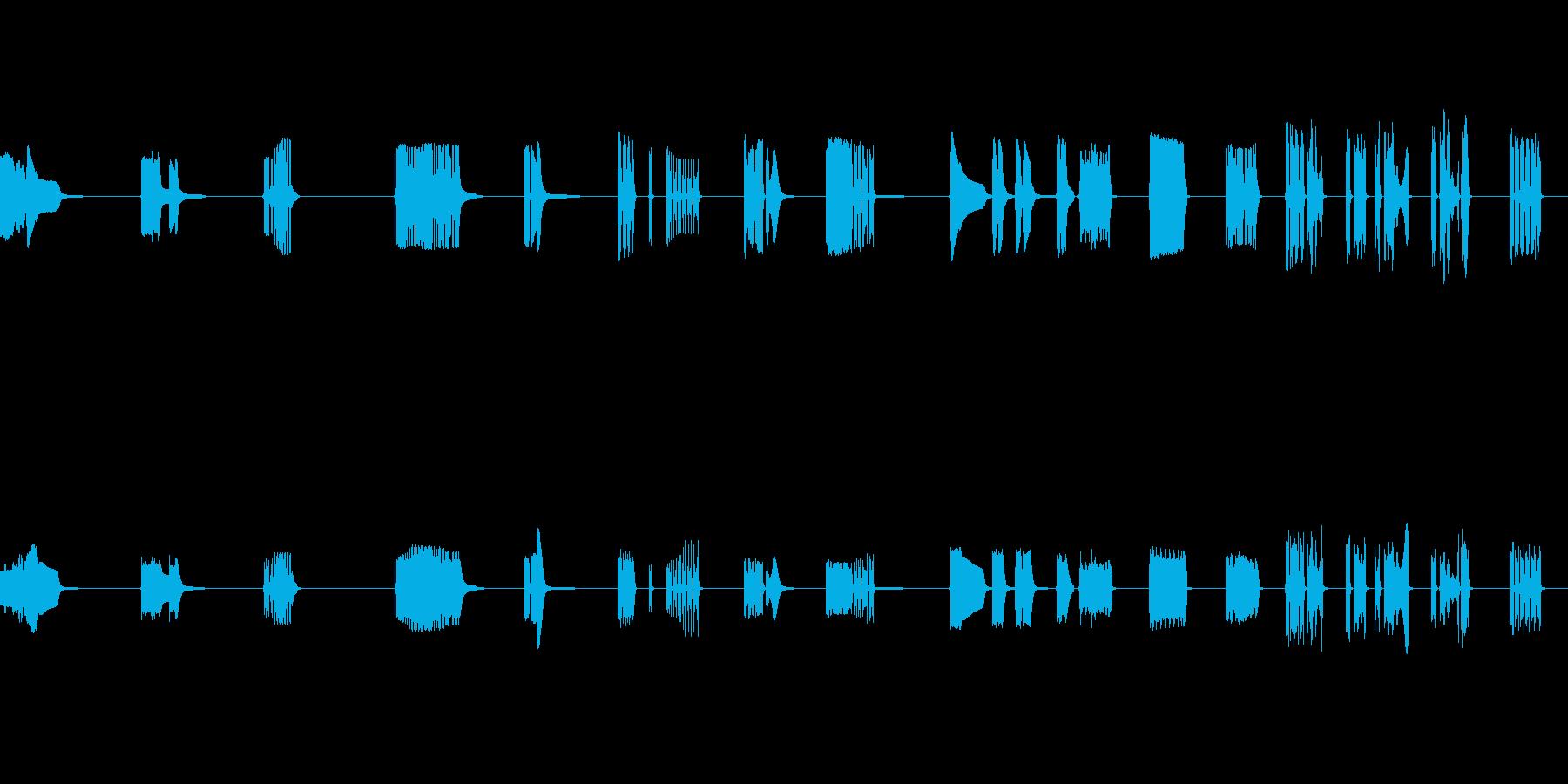 コンピュータートーク、SCI FI...の再生済みの波形