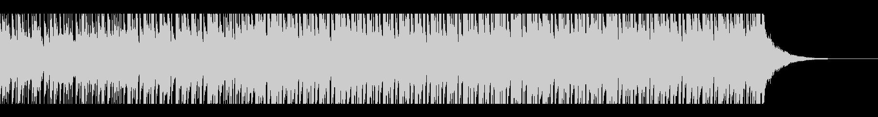 熱帯の夏(60秒)の未再生の波形