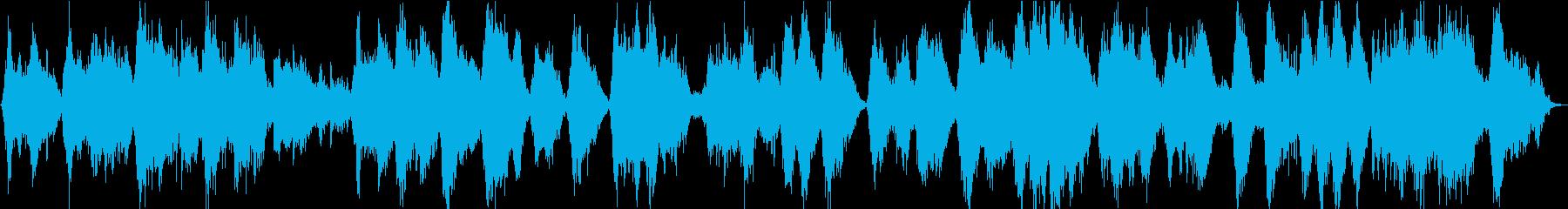 シンセ主体 空間が広がる癒し系BGMの再生済みの波形