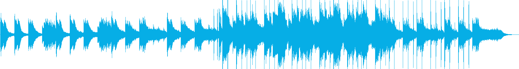 優雅なヒーリングミュージックの再生済みの波形