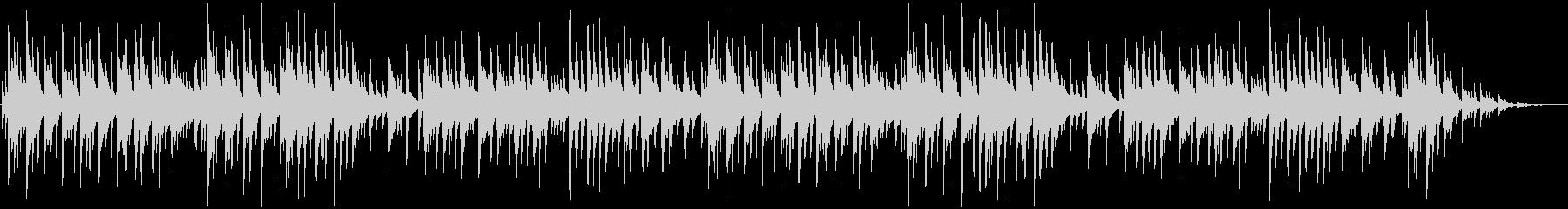 切ない雰囲気のピアノ曲の未再生の波形