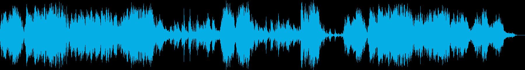 クロード・ドビュッシー初期のピアノ作品の再生済みの波形