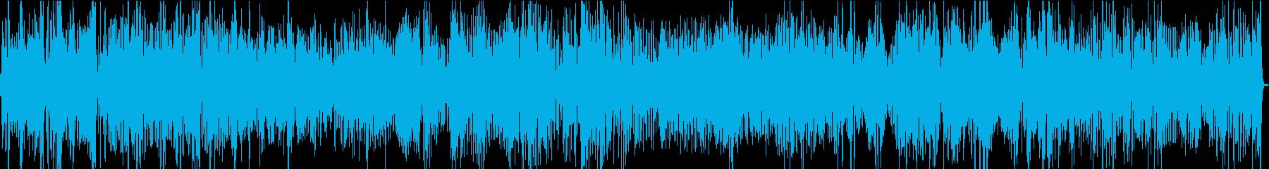 スイング。コーラストランペット、ト...の再生済みの波形