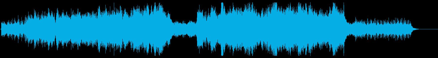 プロローグ オーケストラの再生済みの波形