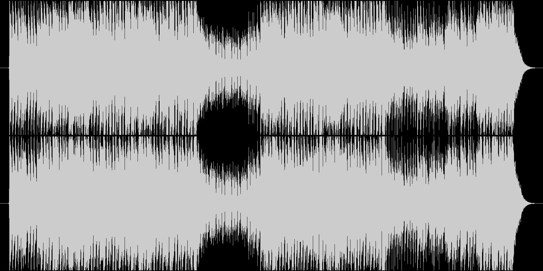軽快なブラスによるファンキーTUNEの未再生の波形