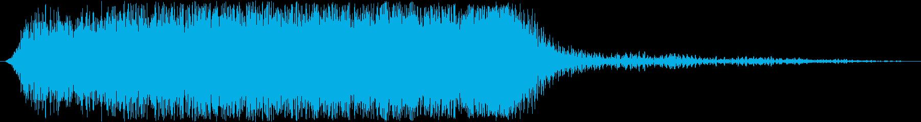 大型宇宙船:Ext:ワープドライブ...の再生済みの波形