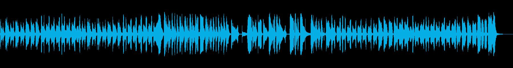 ラウンドとラウンド:元気、遊び心、...の再生済みの波形