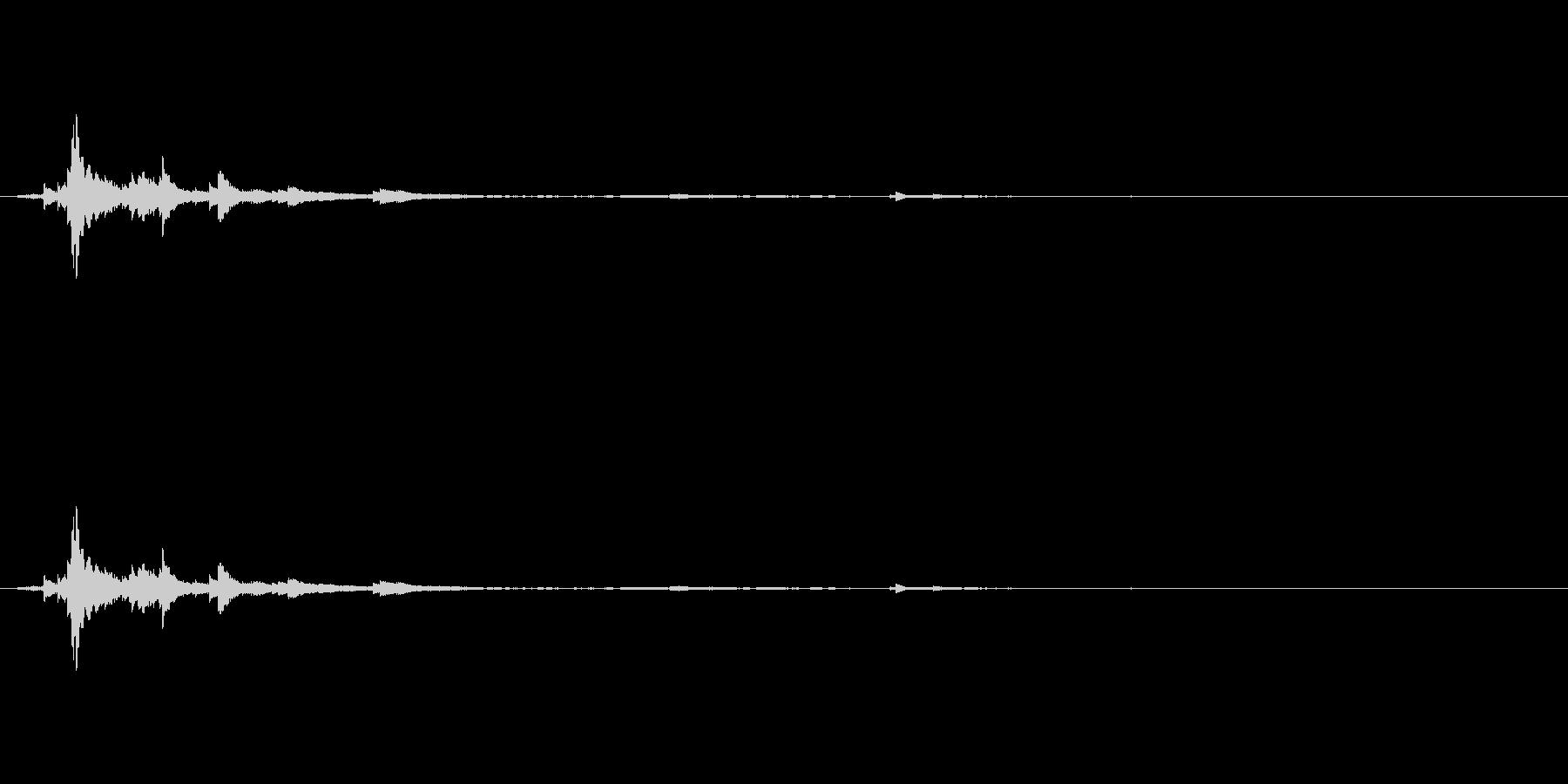 メタル 風鈴03の未再生の波形