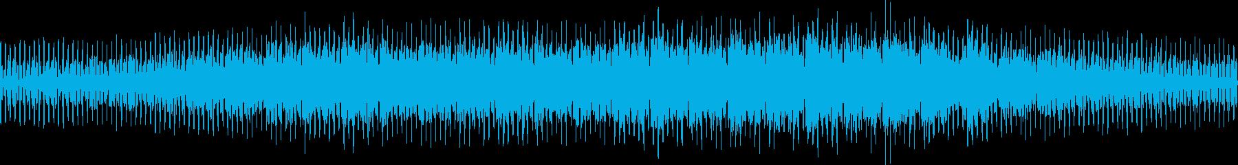 テクノ/暗い穏やか/ニュース/ループの再生済みの波形