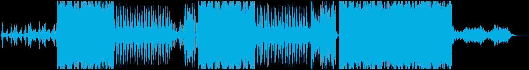 重厚感のあるR&Bの再生済みの波形