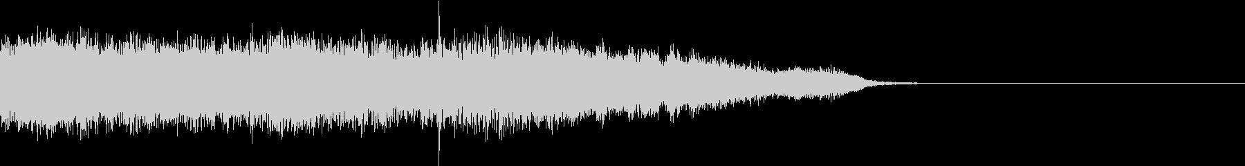 ジングル、サウンドロゴ ROCK01の未再生の波形