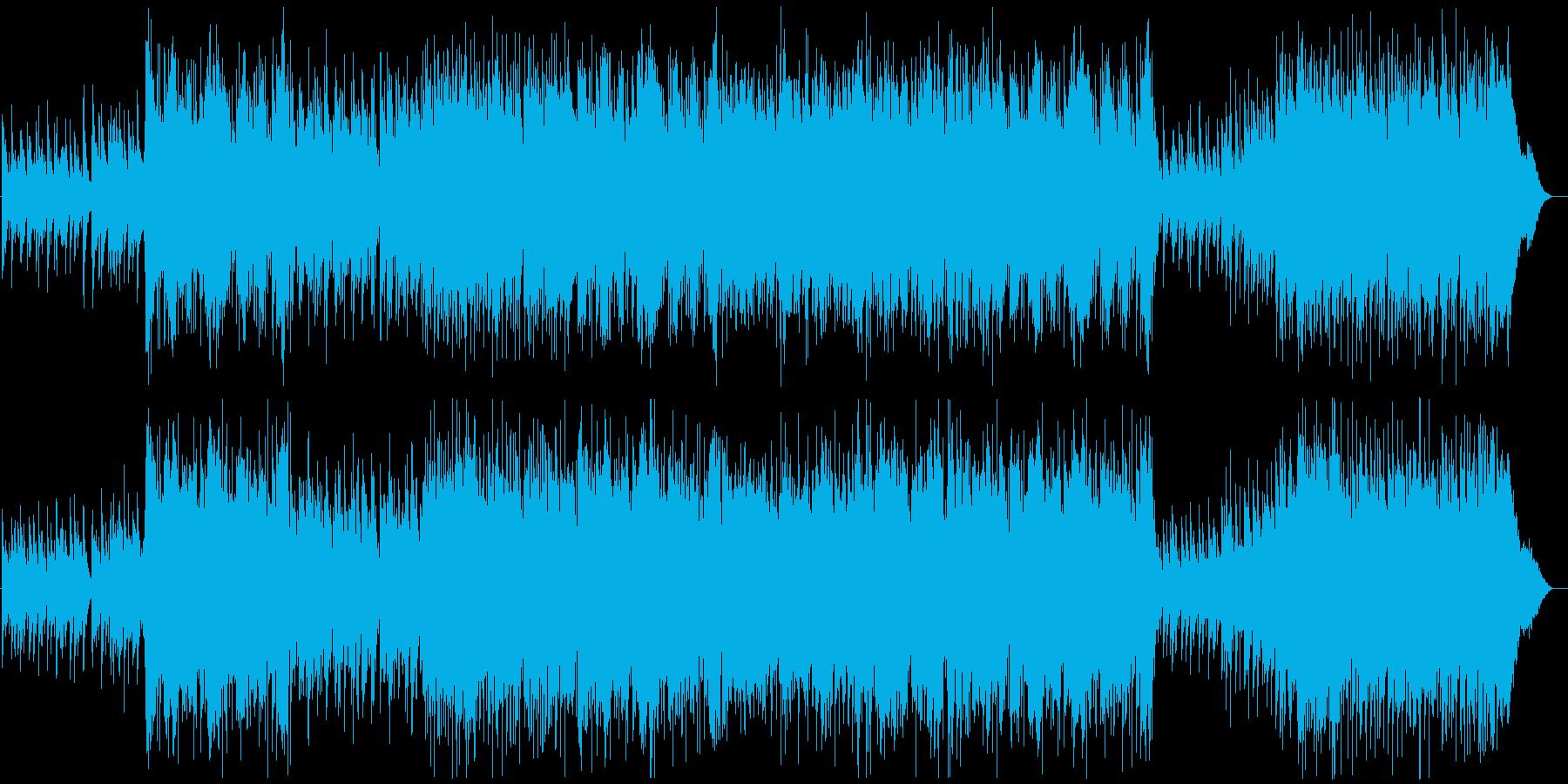 ブライダル・ドラマチックな入場シーンの再生済みの波形