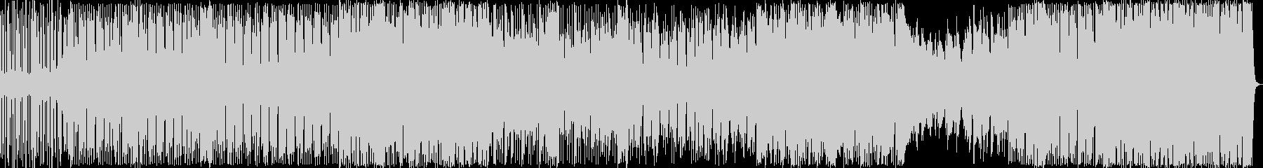 ヒップホップ風のリズムのR&Bの未再生の波形