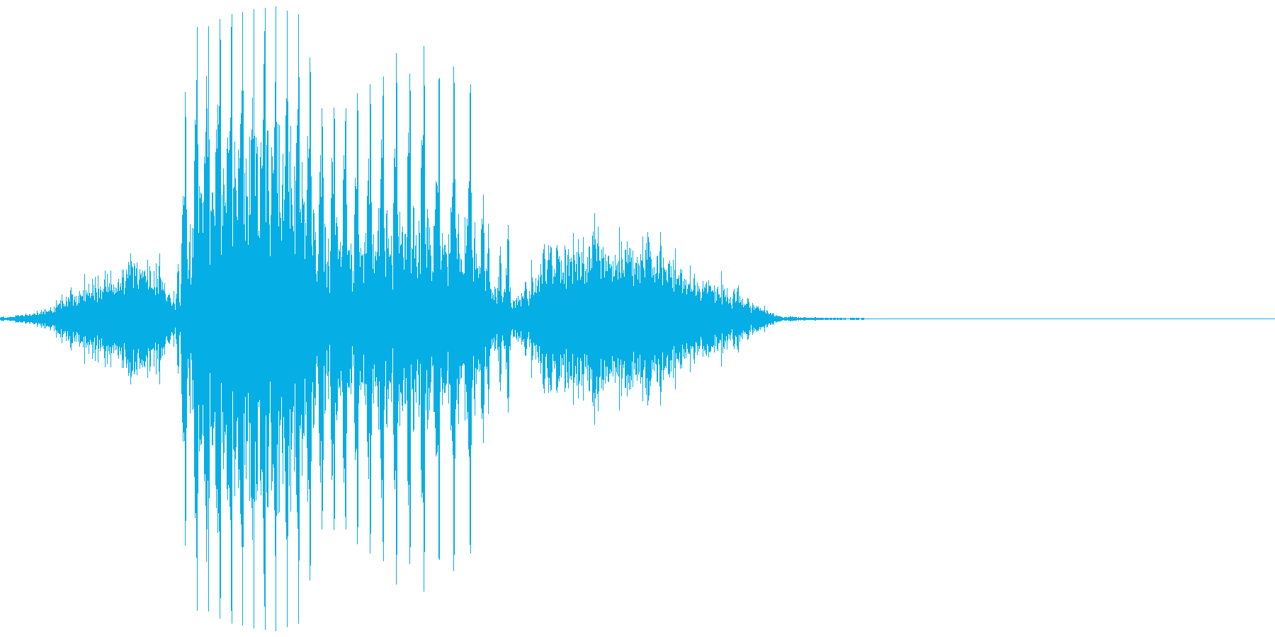 アメリカ人男性 Finishフィニッシュの再生済みの波形