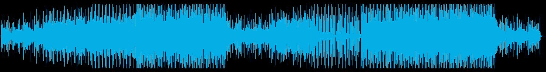 オシャレ・都会的・ディープハウスの再生済みの波形