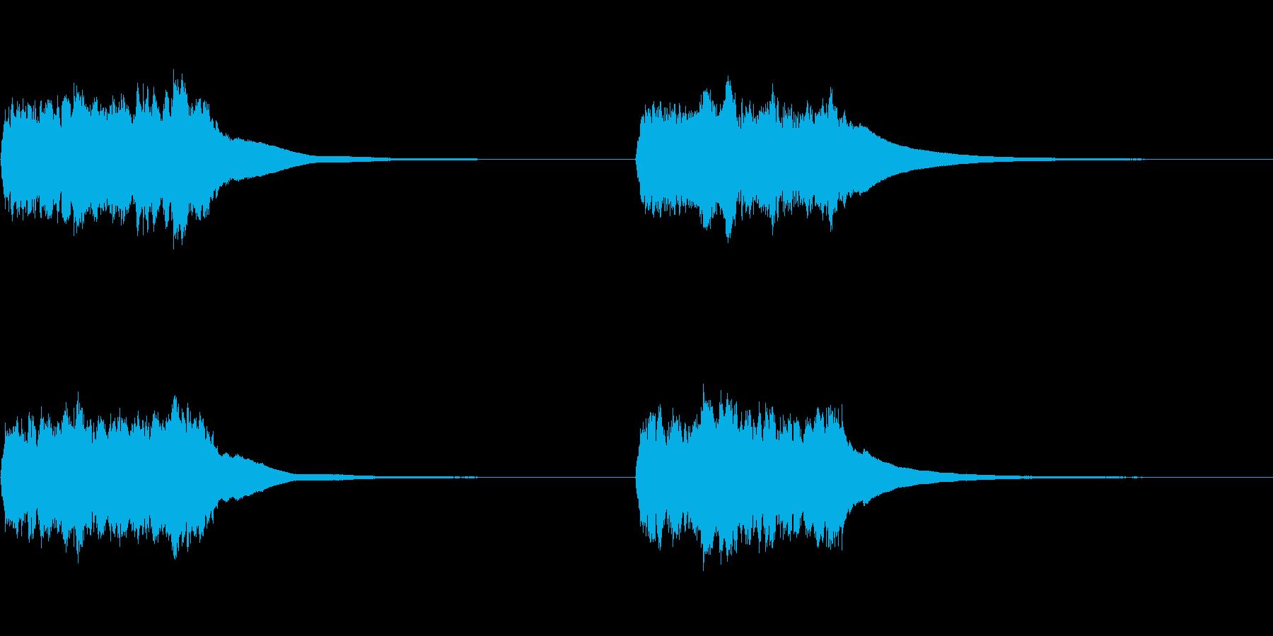 古い電話ベル:リング、2回、フォリーの再生済みの波形