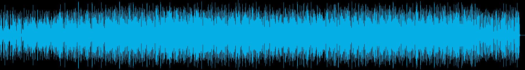 ダークでかっこいいメロディーの再生済みの波形