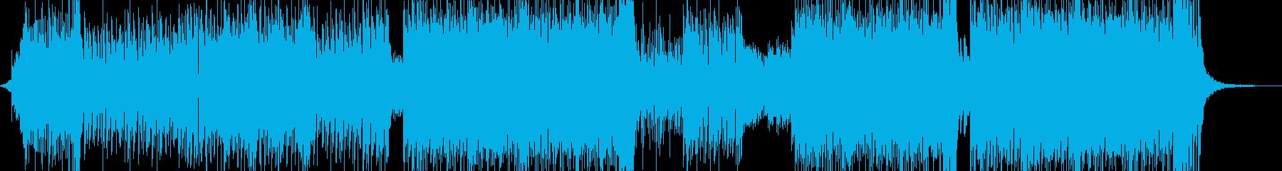 ♪ゆめかわな雰囲気・テクノポップ♪ 短尺の再生済みの波形