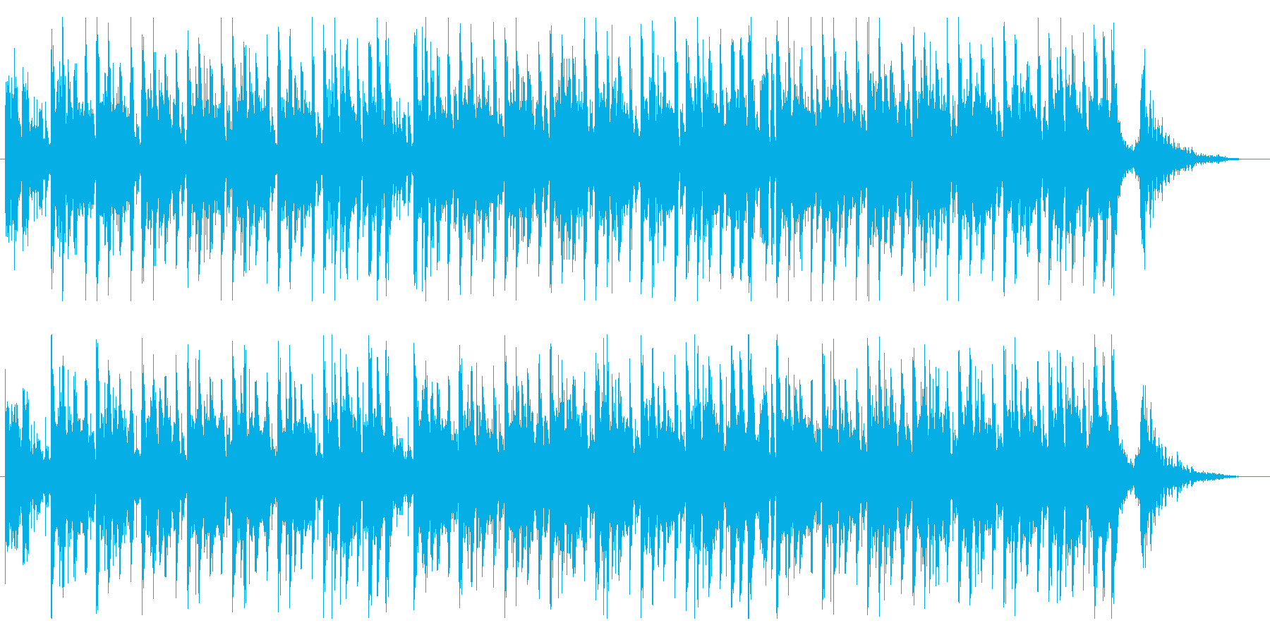 SunsetOnTheBeach 60秒の再生済みの波形