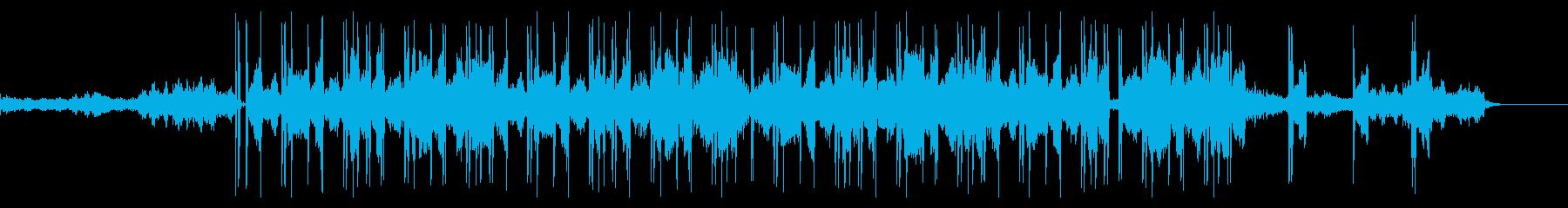 優しく明るいチル・ヒップホップの再生済みの波形