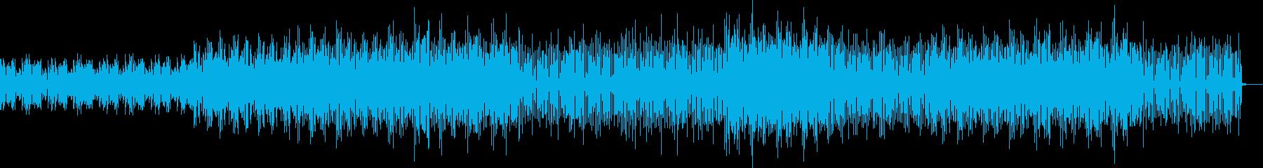 十二音技法による不気味なミニマルテクノの再生済みの波形