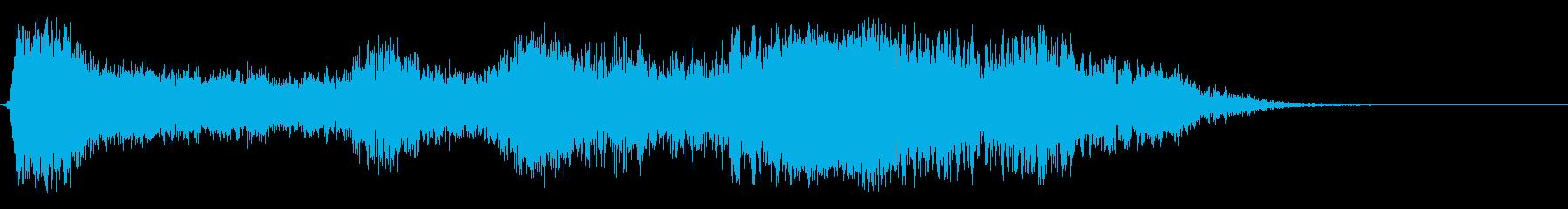 閉鎖の再生済みの波形