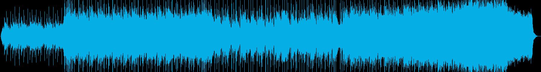 叙情的なヴァイオリンの旋律のバラードの再生済みの波形
