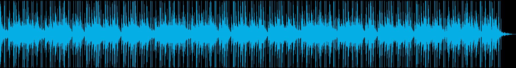 天国にいるような癒しのハープBGMの再生済みの波形
