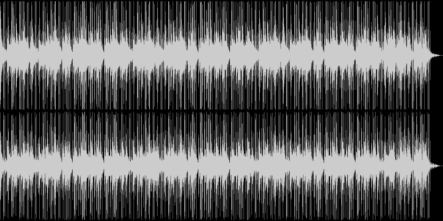 天国にいるような癒しのハープBGMの未再生の波形
