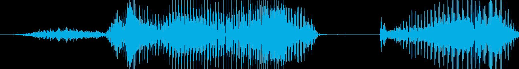 正解!の再生済みの波形