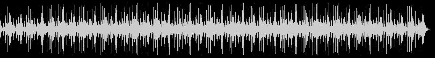 無機質で不可思議なBGMの未再生の波形