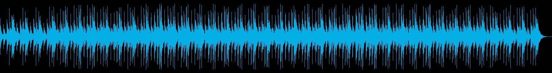 無機質で不可思議なBGMの再生済みの波形