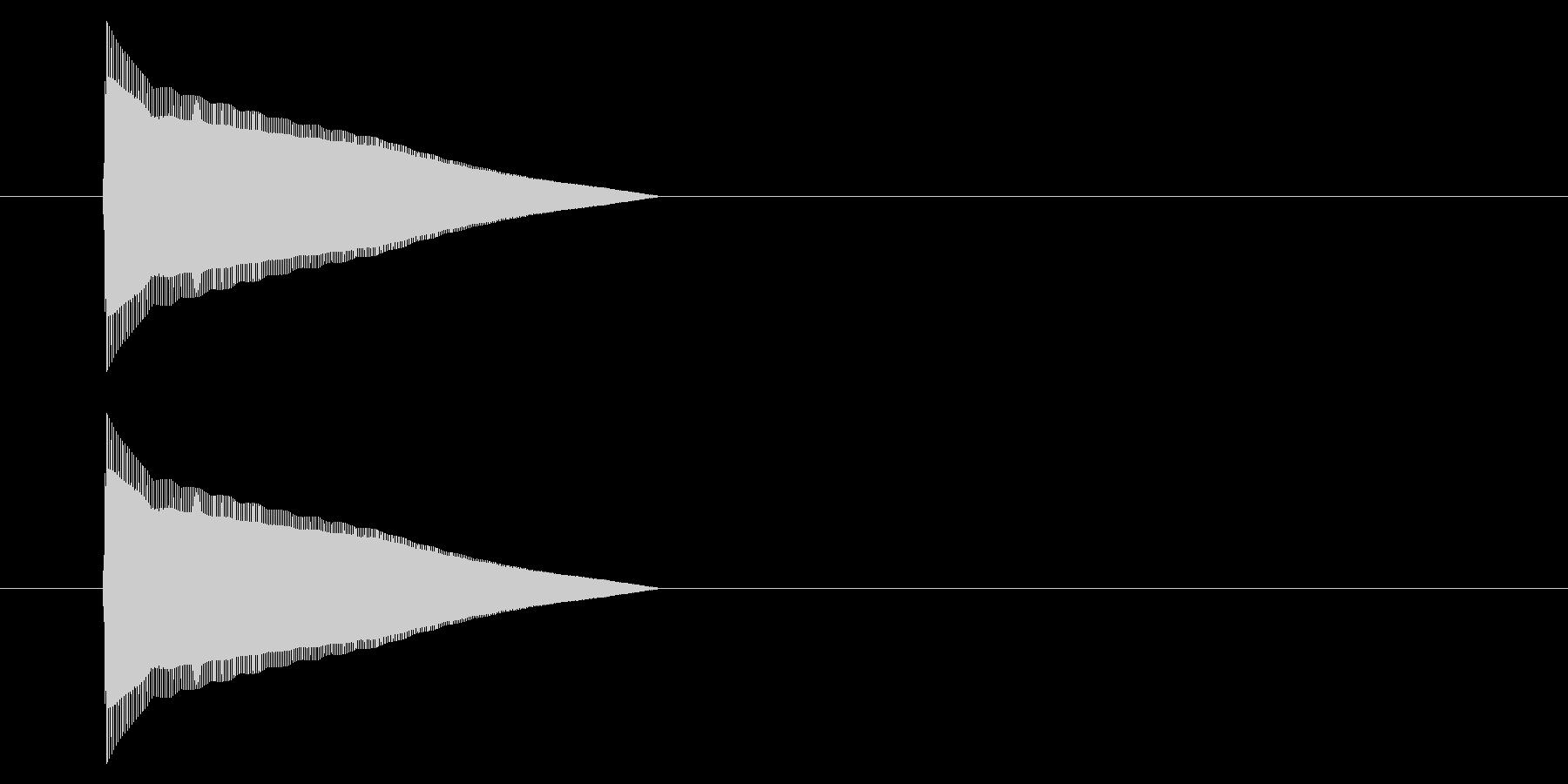 アーケード アクション01-1(ジャンプの未再生の波形