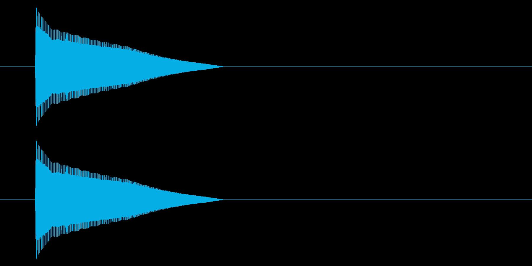 アーケード アクション01-1(ジャンプの再生済みの波形