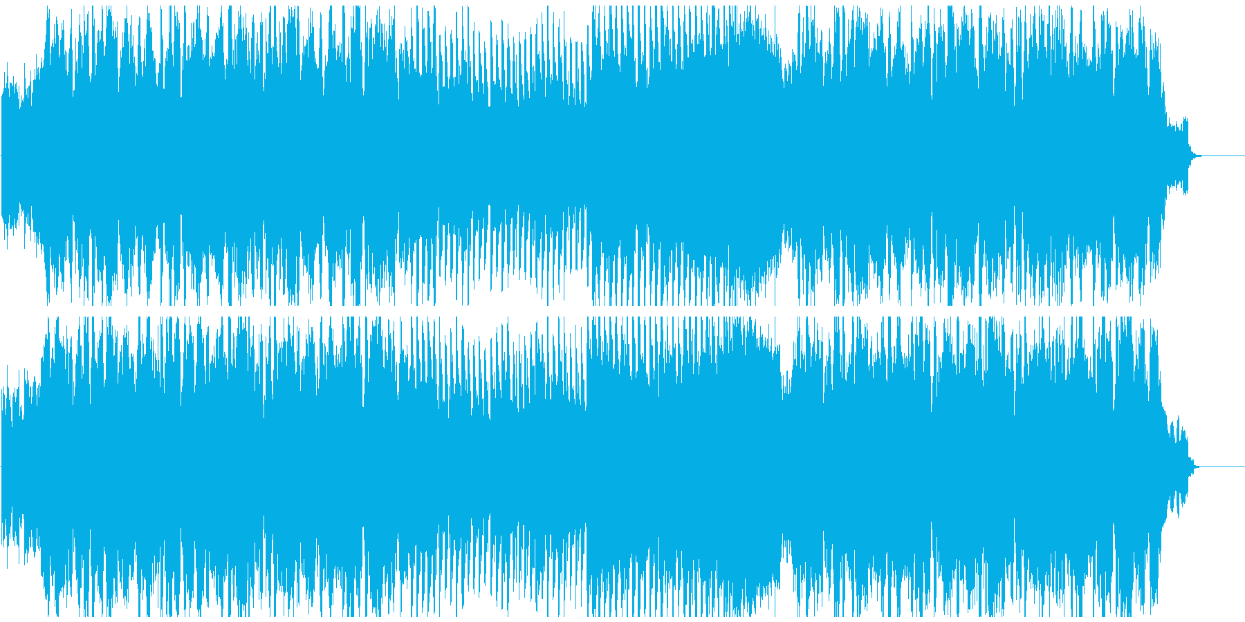 フューチャーベース+和楽器! 篠笛生演奏の再生済みの波形