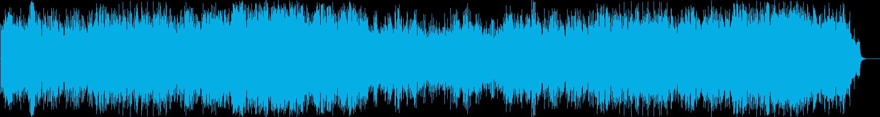 バイオリンとピアノの切ないシーン向きの曲の再生済みの波形