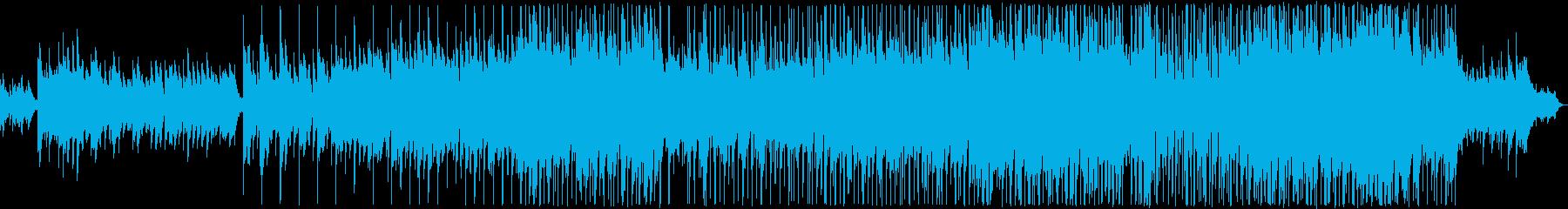 優しい雰囲気のバラード2の再生済みの波形