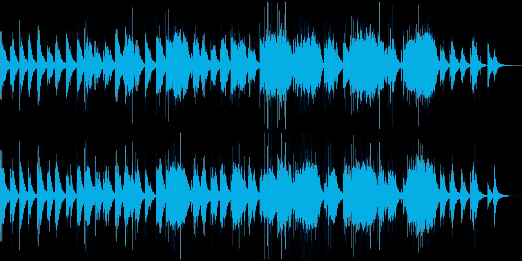 ゆったりとしなやかなピアノバラードの再生済みの波形