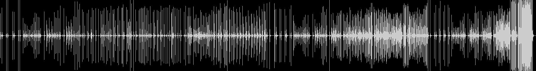 三味線193紀州道成寺9祈り絵巻安珍清姫の未再生の波形