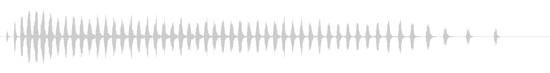 セミ ひぐらし カナカナカナ 単体_2の未再生の波形