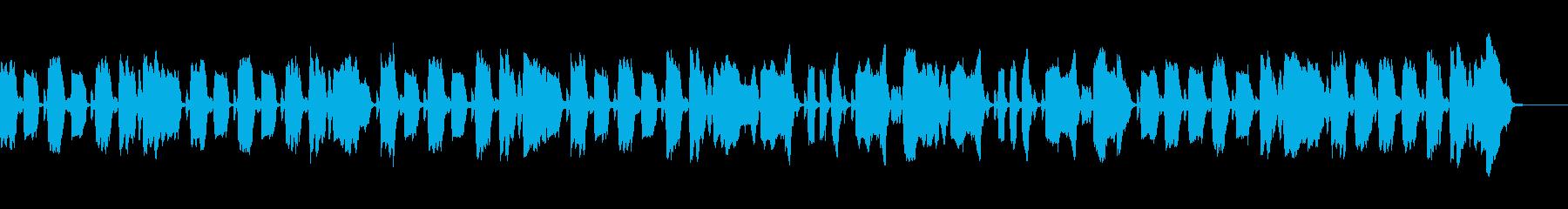 ほんわかとした呑気で平和な日常のBGMの再生済みの波形