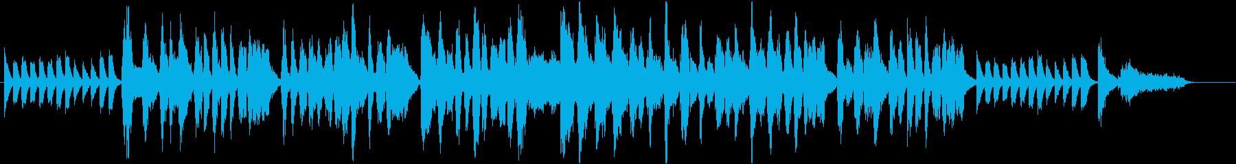 栗をテーマにした楽曲の再生済みの波形