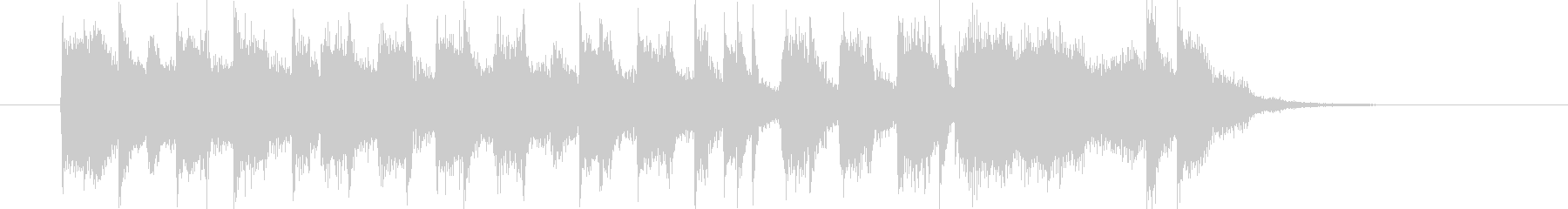 アメリカンスクールなポップロックの未再生の波形