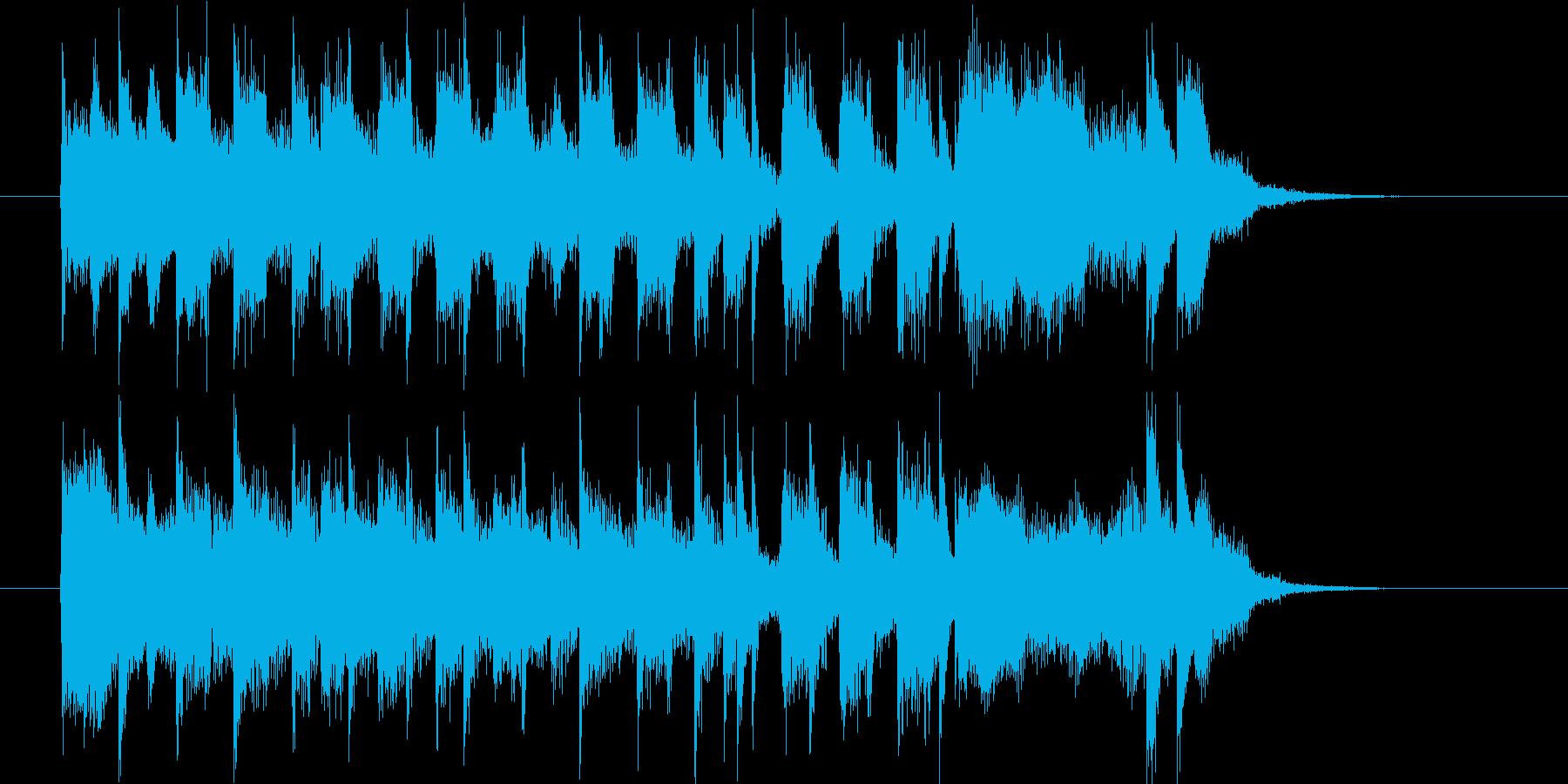 アメリカンスクールなポップロックの再生済みの波形